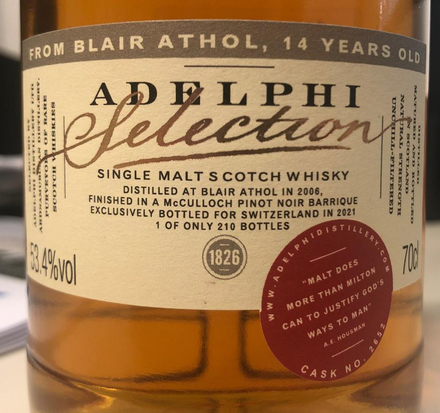 Blair Athol 2006 AD