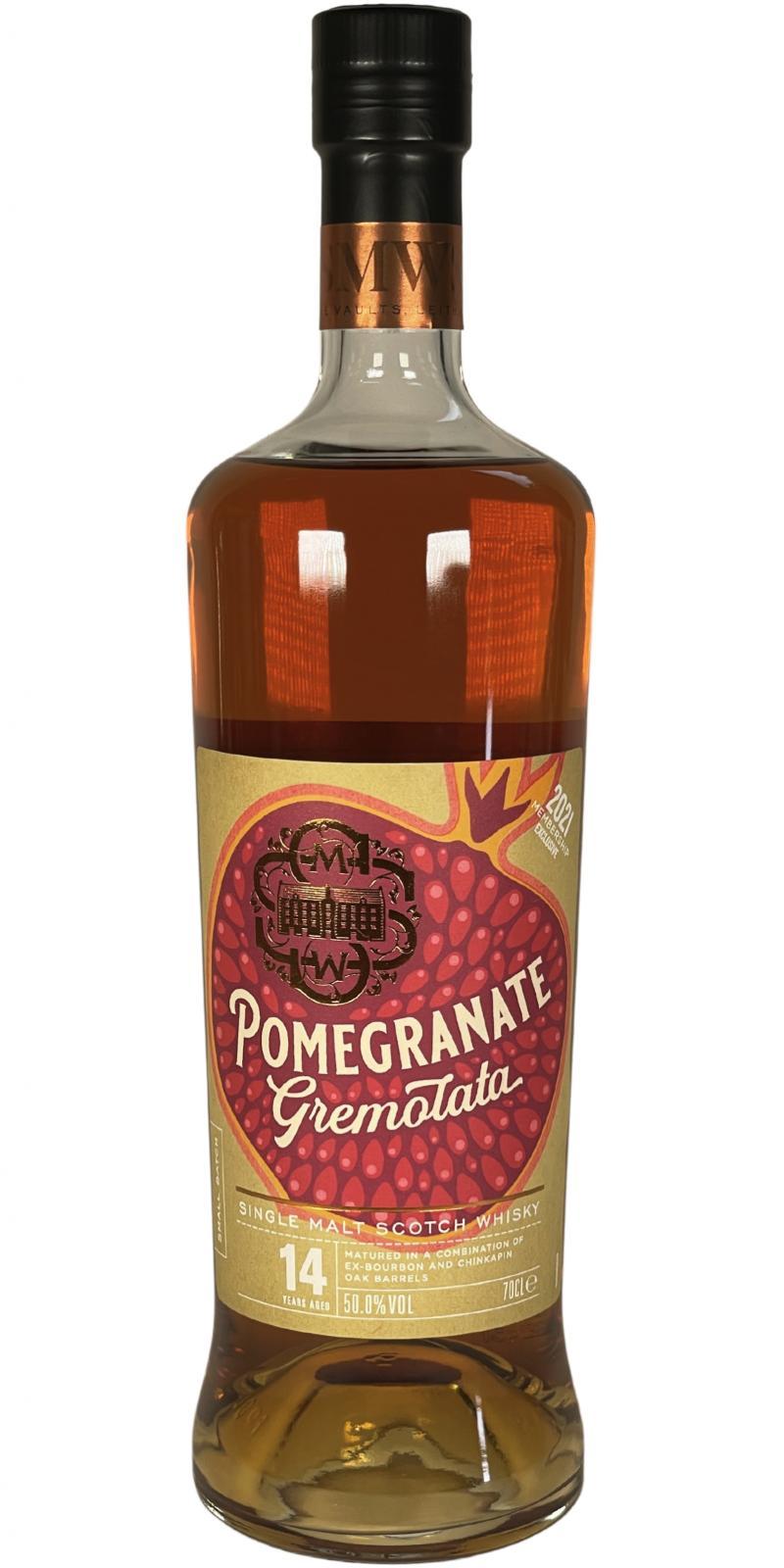 Single Malt Whisky 2006 Pomegranate Gremolata SMWS