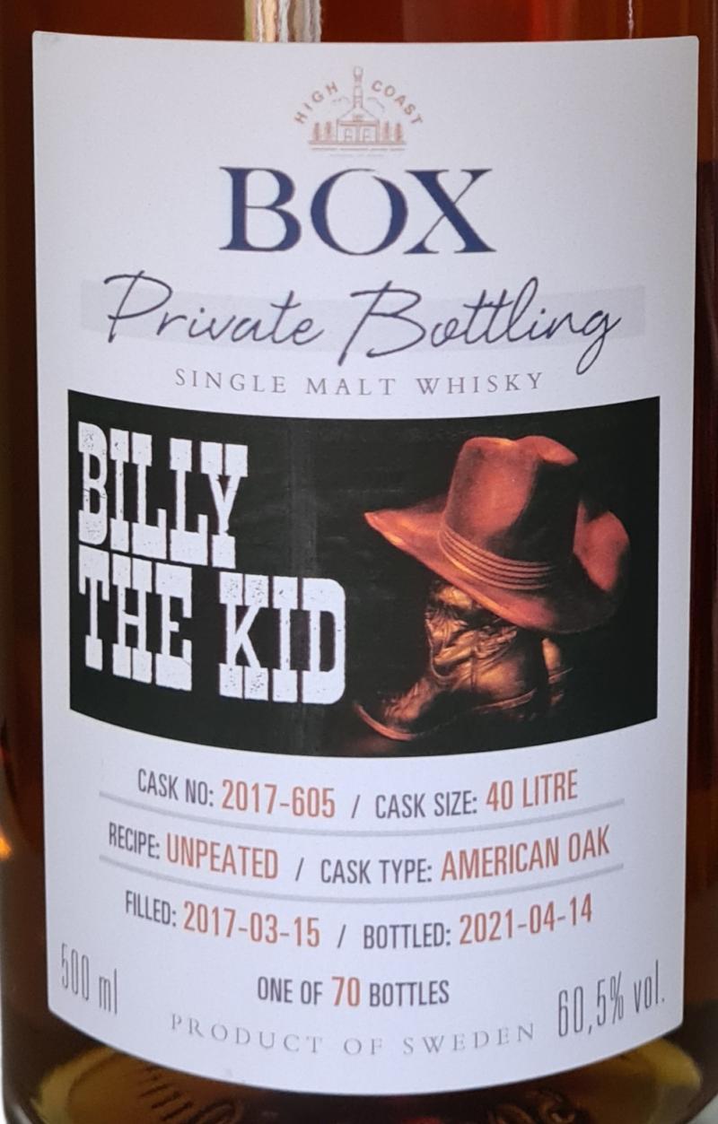 Box 2017 - Billy The Kid
