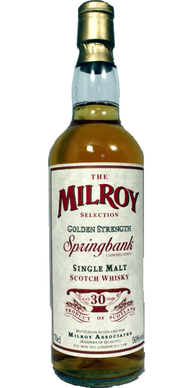 Springbank 30-year-old Soh Selection