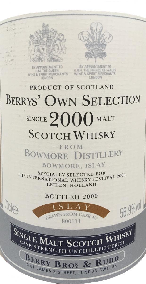 Bowmore 2000 BR