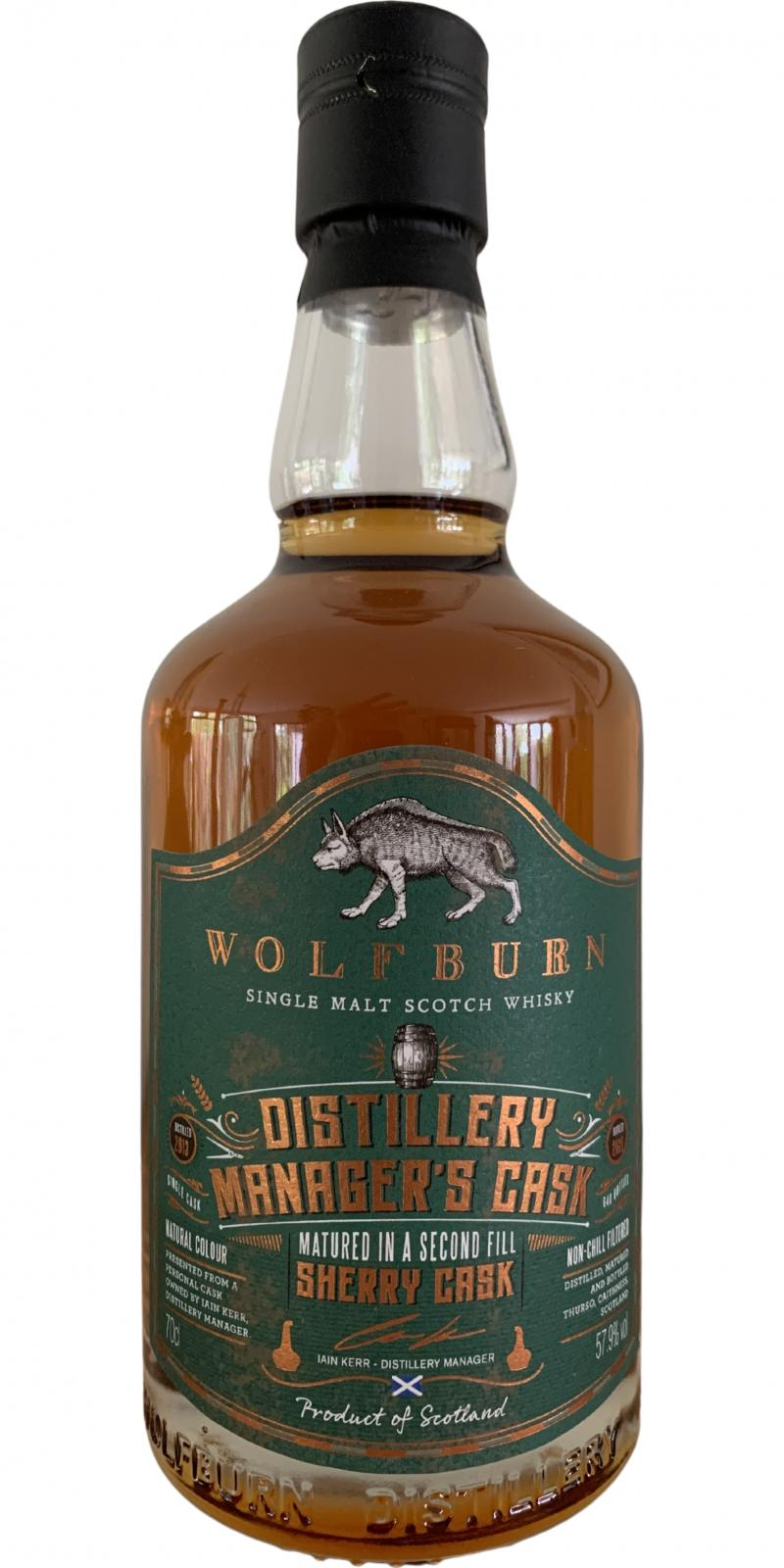 Wolfburn Manager's Cask