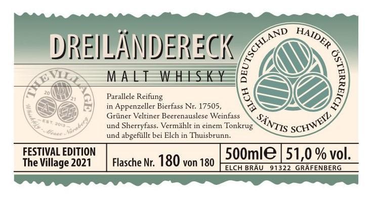 Dreiländereck Malt Whisky