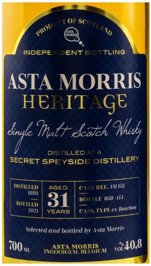 Secret Speyside Distillery 1989 AM