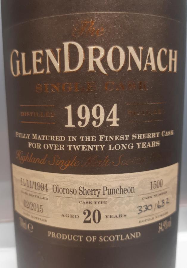 Glendronach 1994