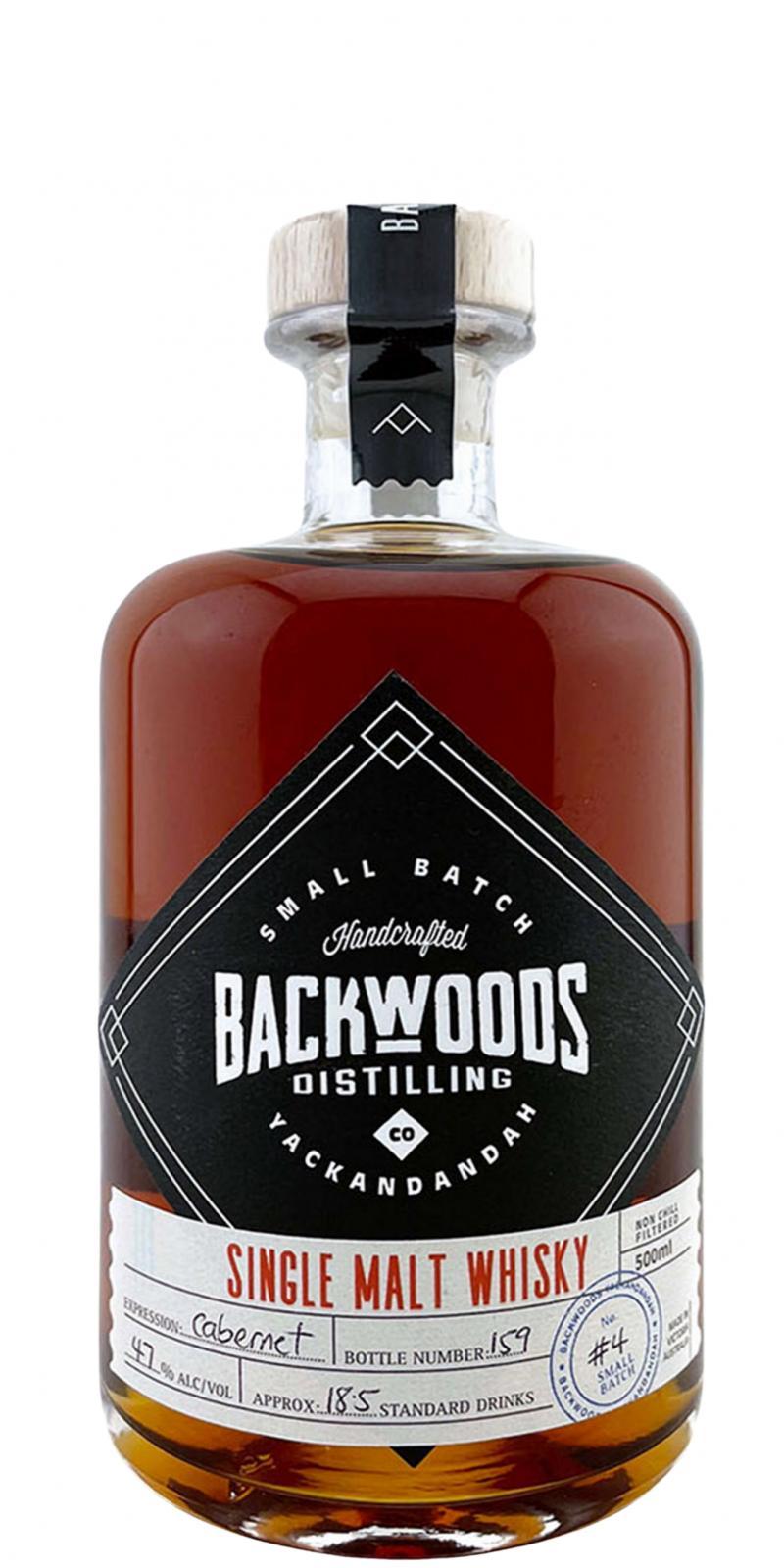 Backwoods Distilling Single Malt Whisky