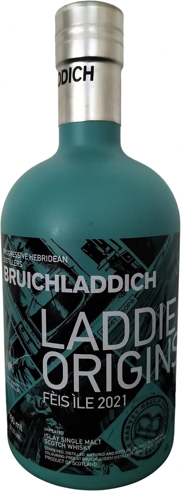 Bruichladdich Laddie Origins