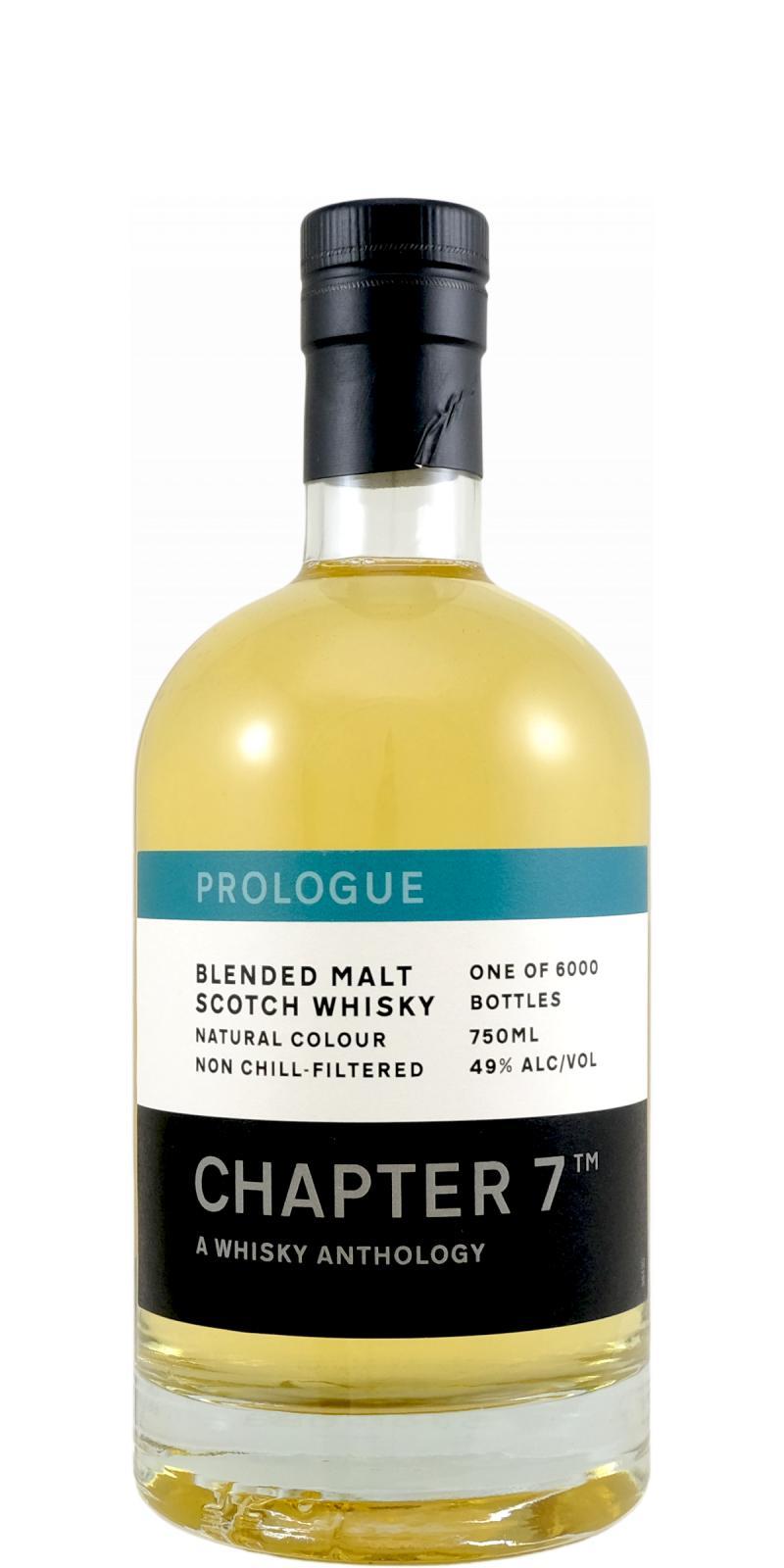 Blended Malt Scotch Whisky Prologue Ch7