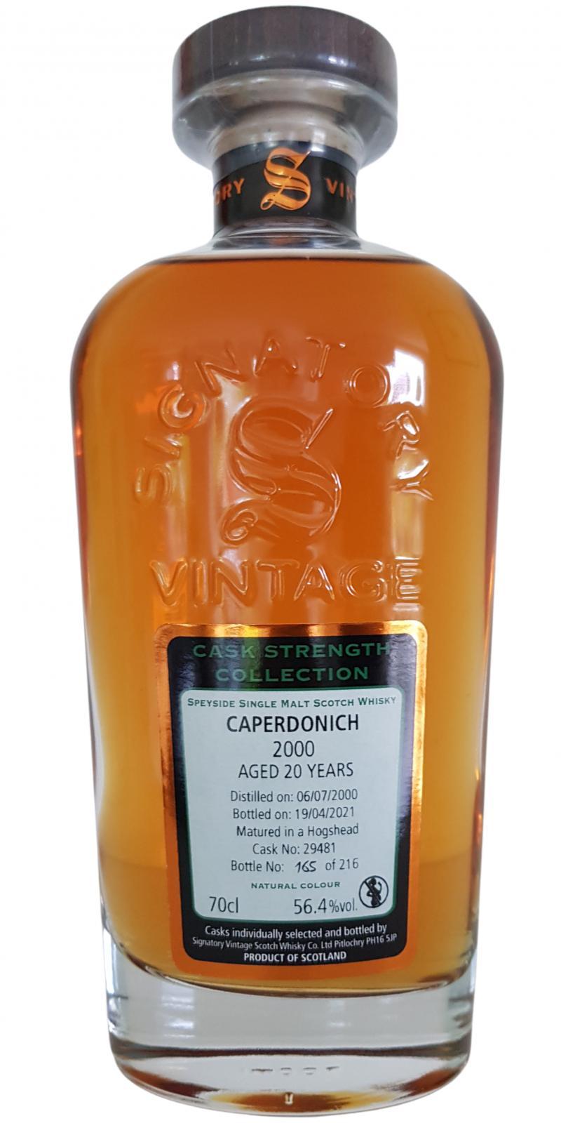 Caperdonich 2000 SV