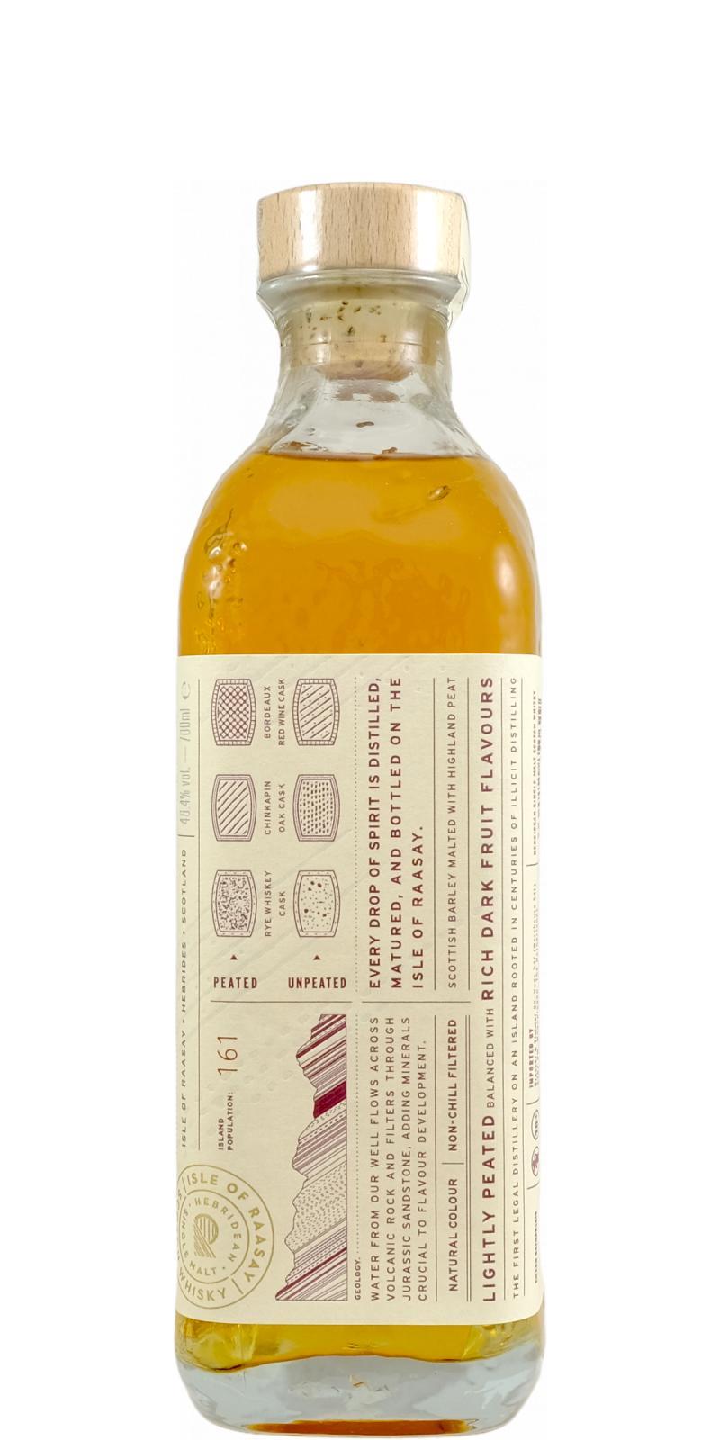 Raasay Hebridean Single Malt Scotch Whisky