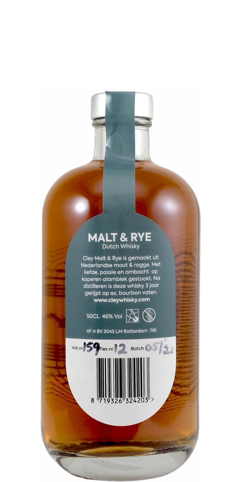 Cley Whisky Malt & Rye