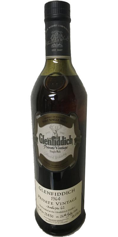 Glenfiddich 1964