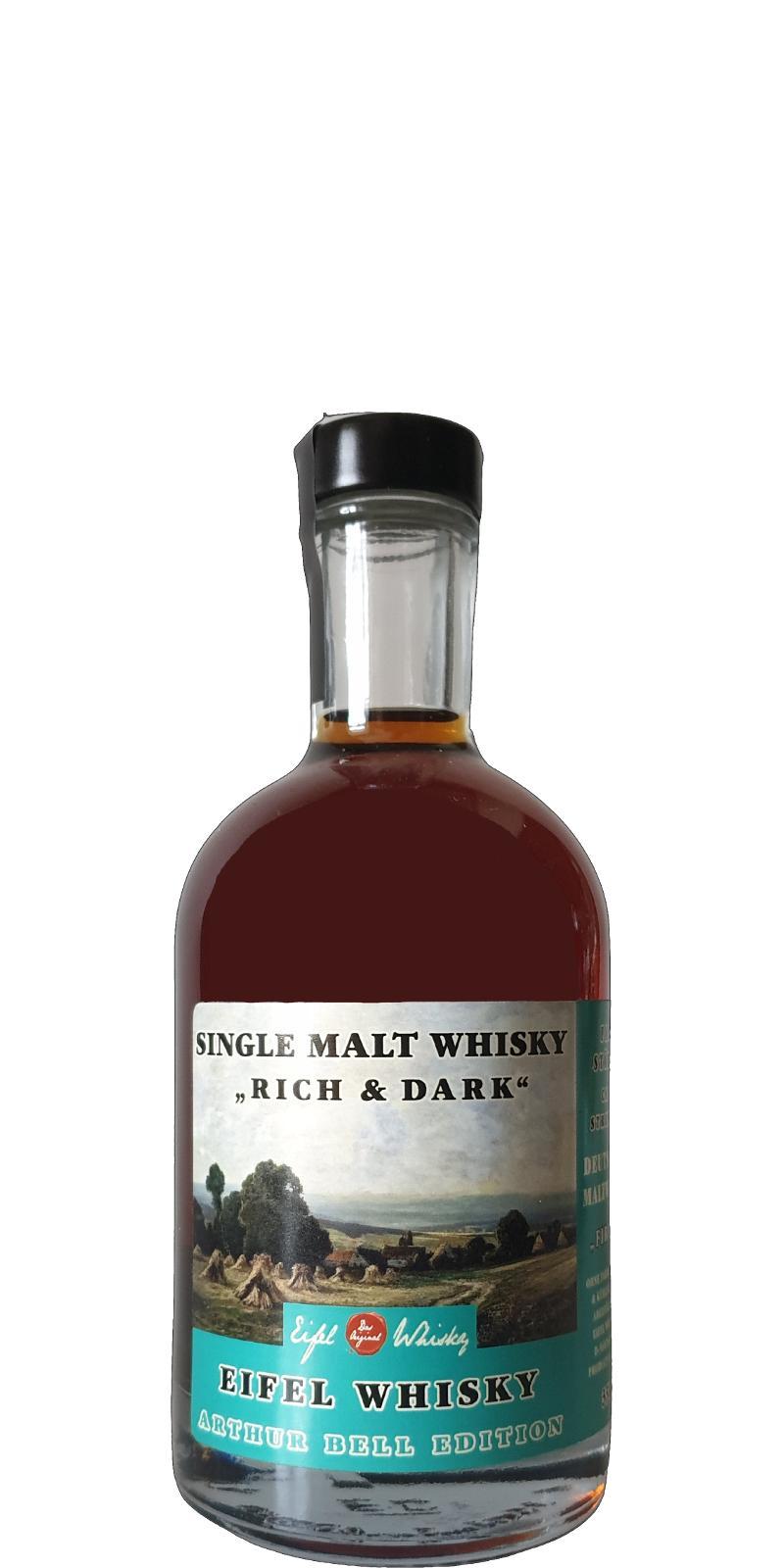 "Eifel Whisky Single Malt Whisky ""Rich & Dark"""