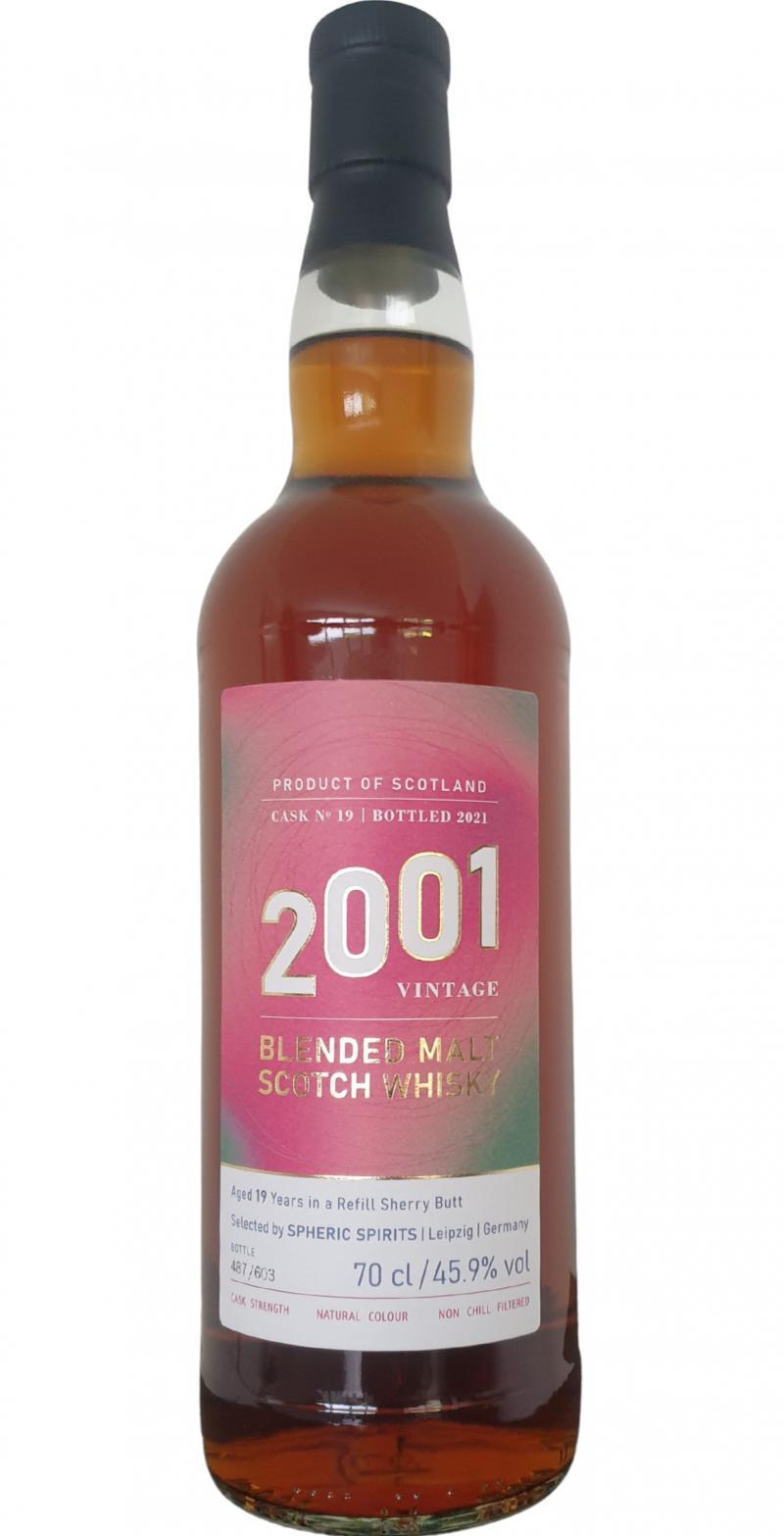 Blended Malt Scotch Whisky 2001 SpSp