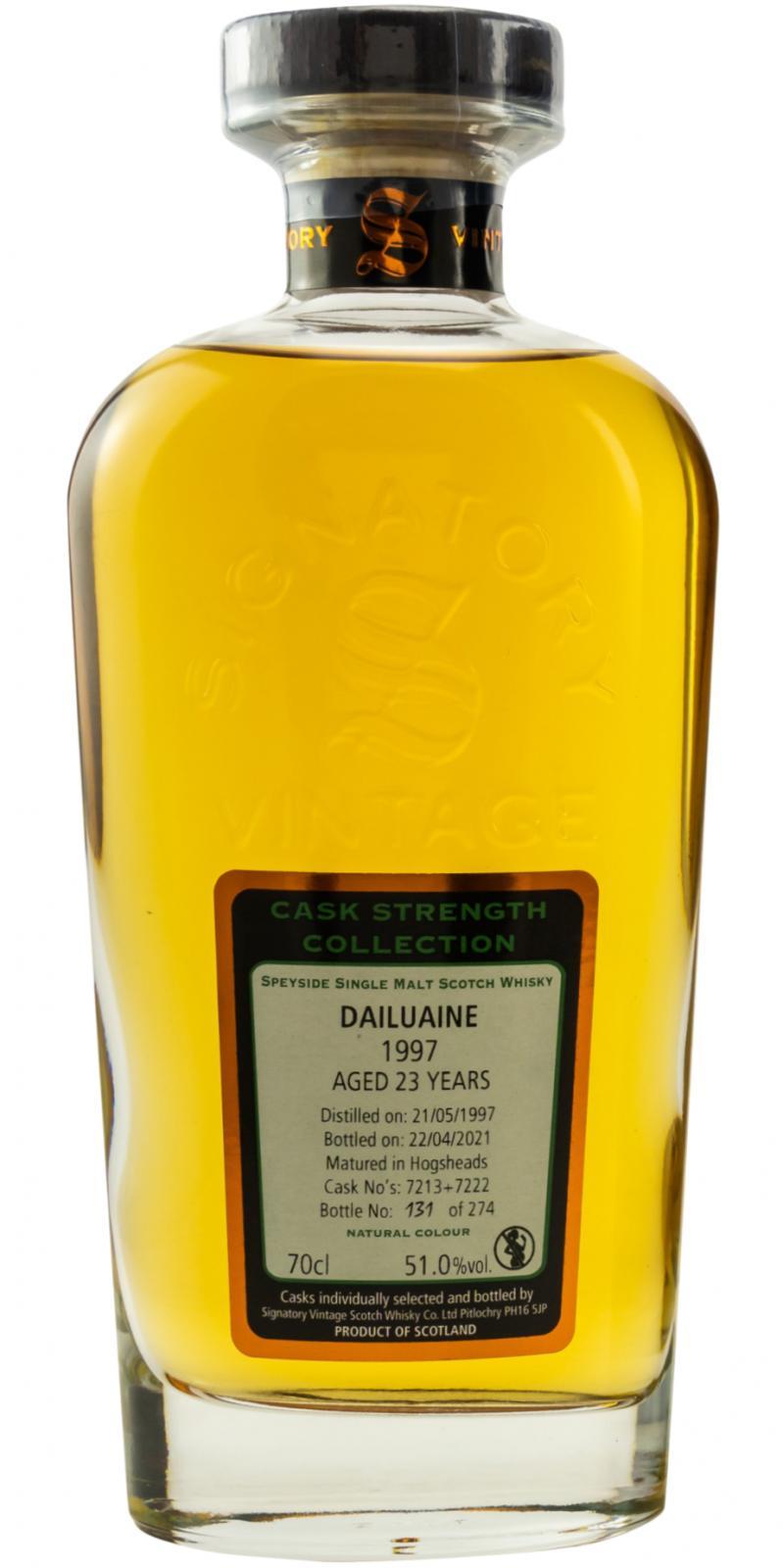 Dailuaine 1997 SV