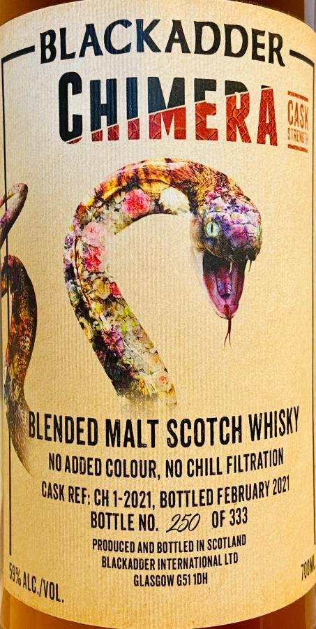 Chimera Blended Malt Scotch Whisky BA