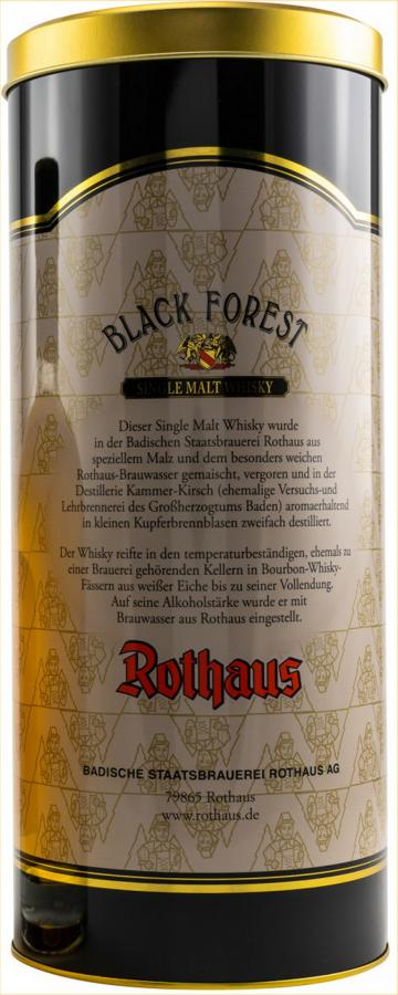 Black Forest Single Malt Whisky