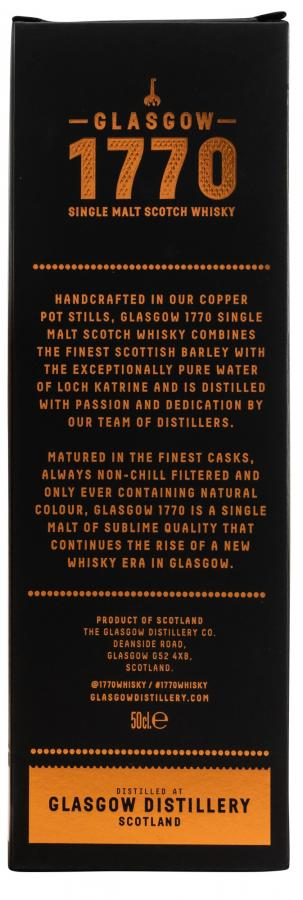 1770 2015 - Glasgow Single Malt