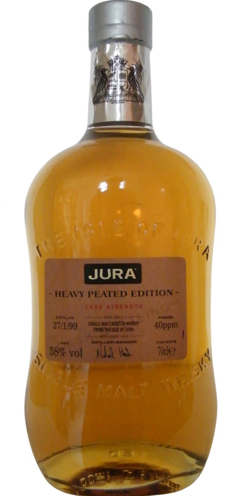 Isle of Jura 1999 Heavy Peated