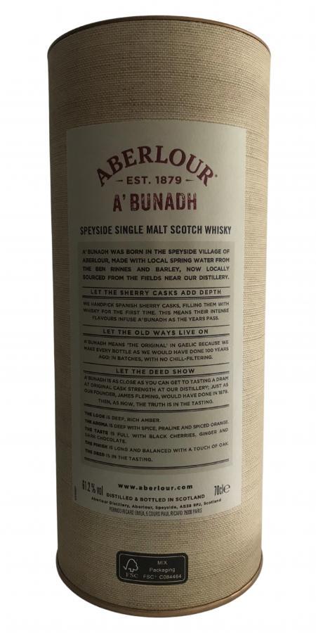 Aberlour A'bunadh batch #70