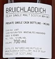 Bruichladdich 09-year-old