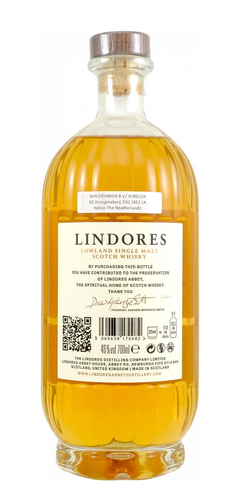 Lindores Abbey Single Malt Scotch Whisky MCDXCIV