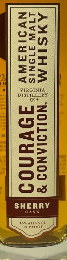 Courage & Conviction Sherry Cask