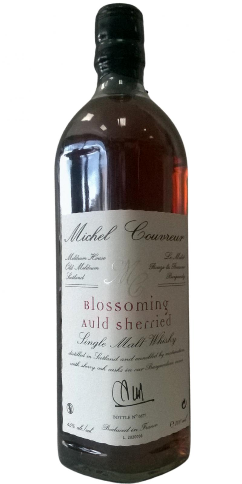 Blossoming Auld Sherried Single Malt Whisky MCo