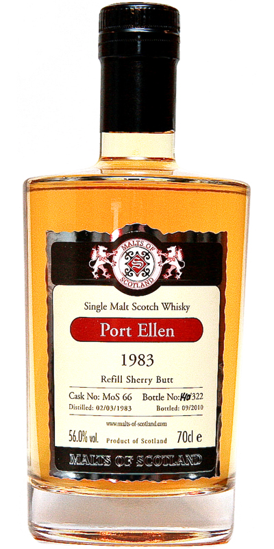 Port Ellen 1983 MoS