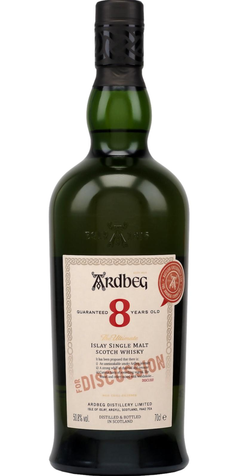 Ardbeg 08-year-old