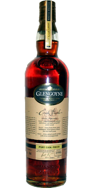 Glengoyne 1996 - Port Cask Finish