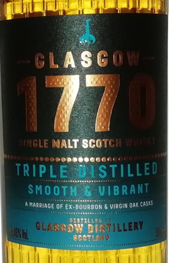 1770 Glasgow Single Malt