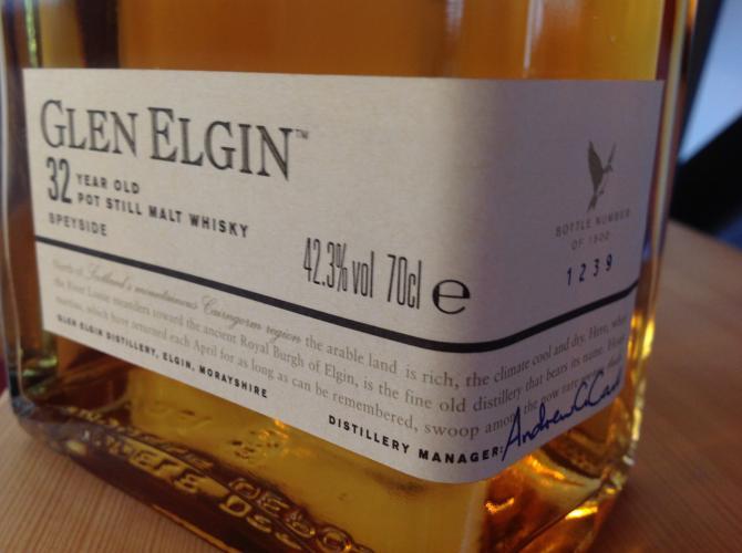 Glen Elgin 1971