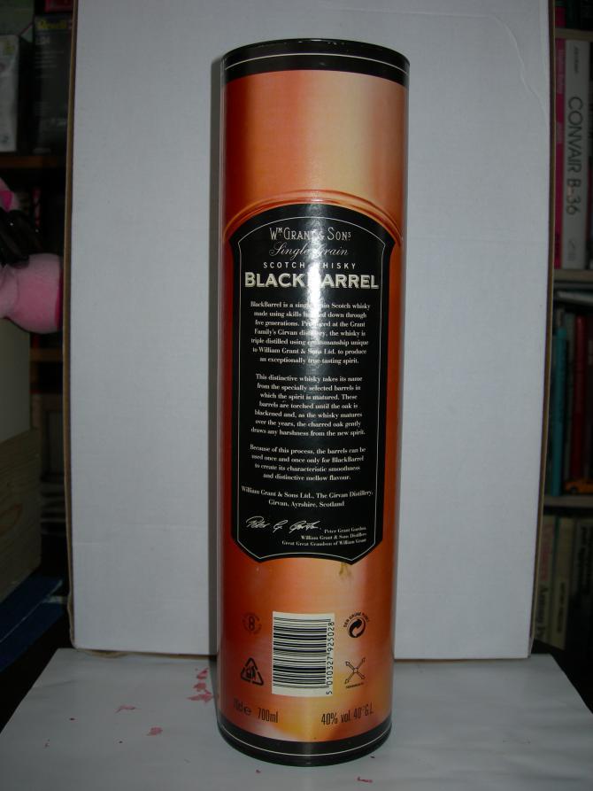 Girvan Black Barrel