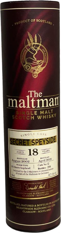 Secret Speyside 2002 MBl