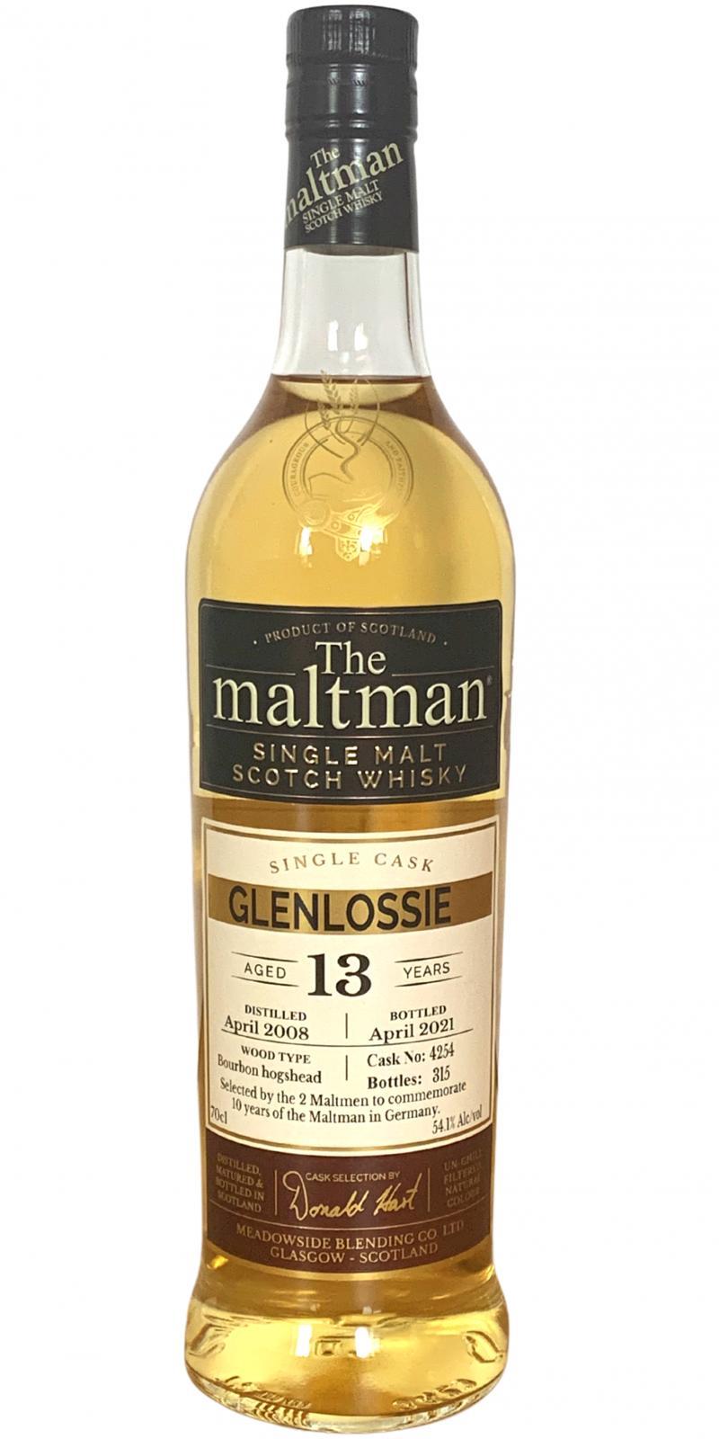 Glenlossie 2008 MBl