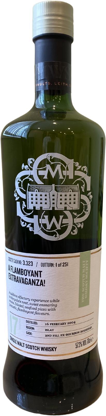 Bowmore 2004 SMWS 3.323