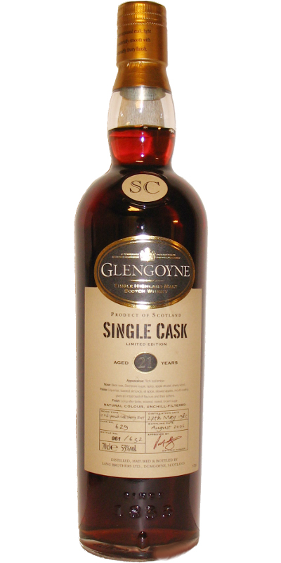Glengoyne 1985 Sherry