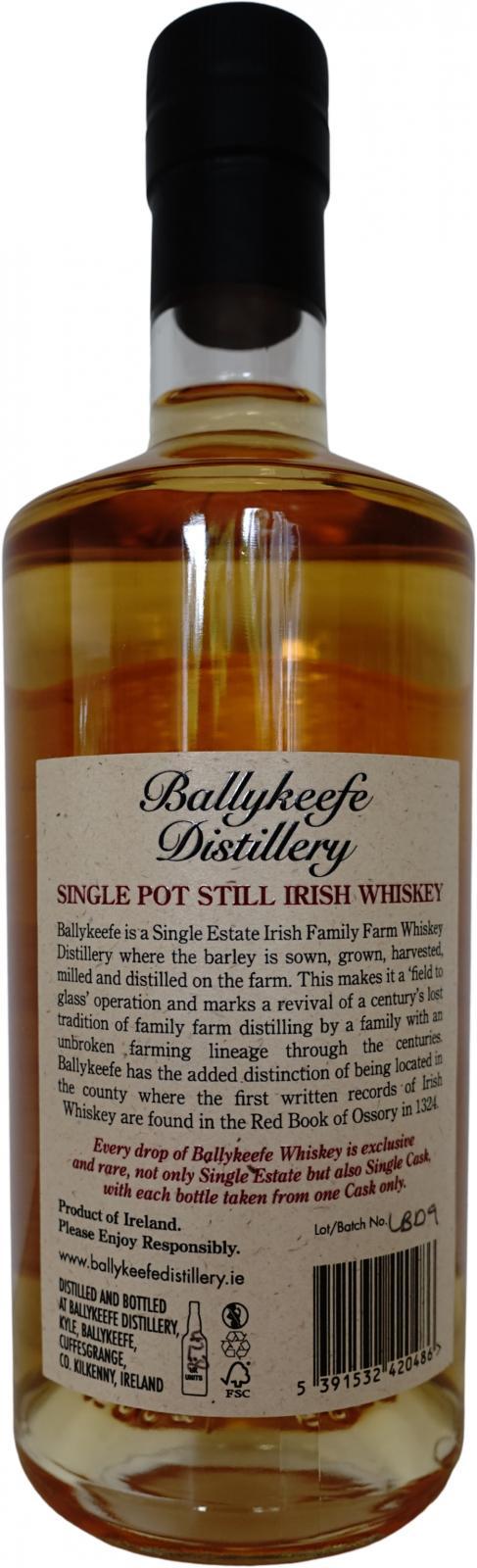 Ballykeefe Distillery 2017