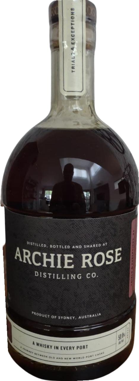 Archie Rose A Whisky In Every Port