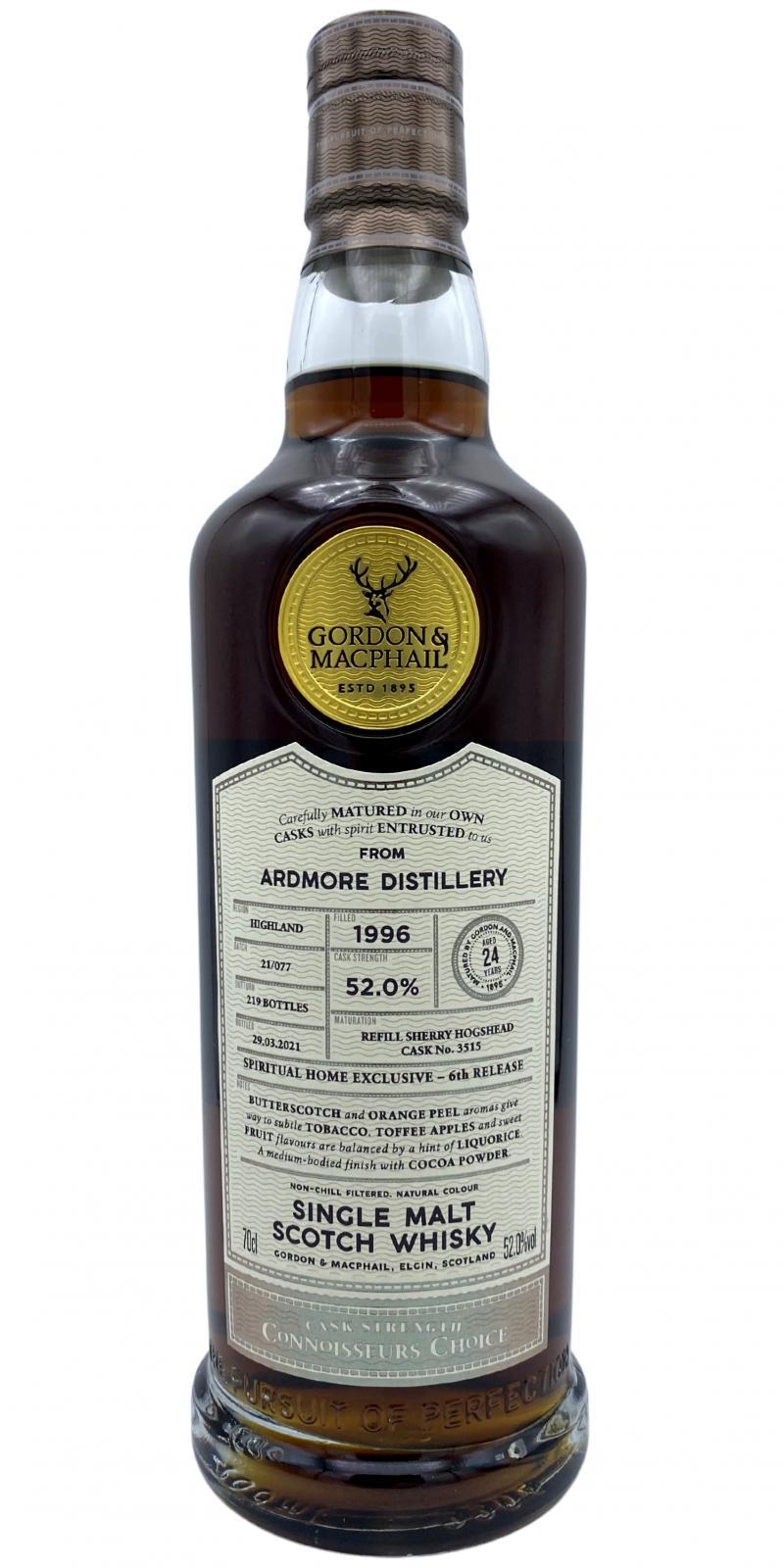 Ardmore 1996 GM