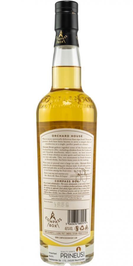 Blended Malt Scotch Whisky Orchard House CB