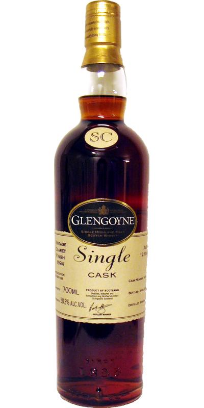 Glengoyne 1994 Claret Finish