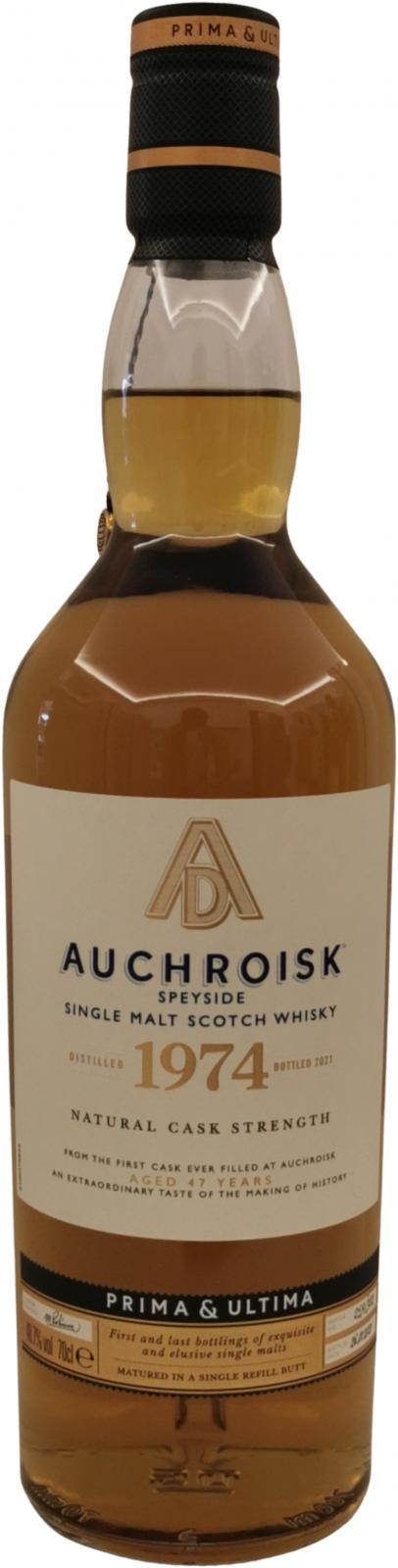 Auchroisk 1974