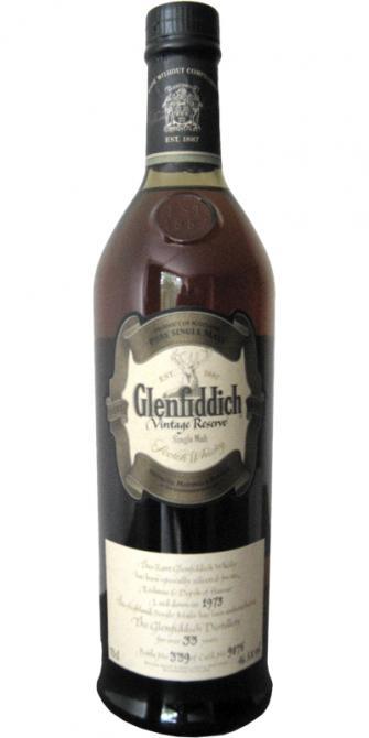 Glenfiddich 1973