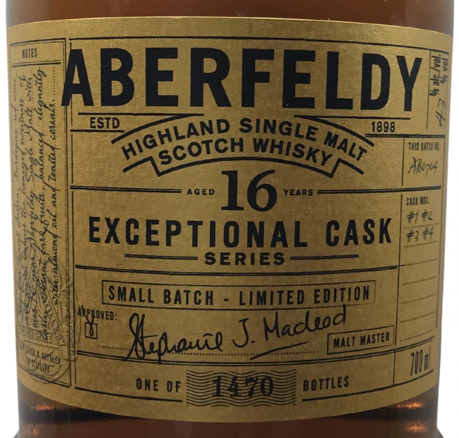 Aberfeldy 16-year-old