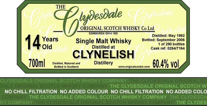 Clynelish 1992 TCO