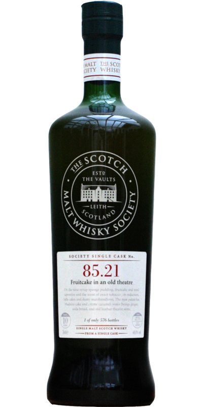 Glen Elgin 1999 SMWS 85.21
