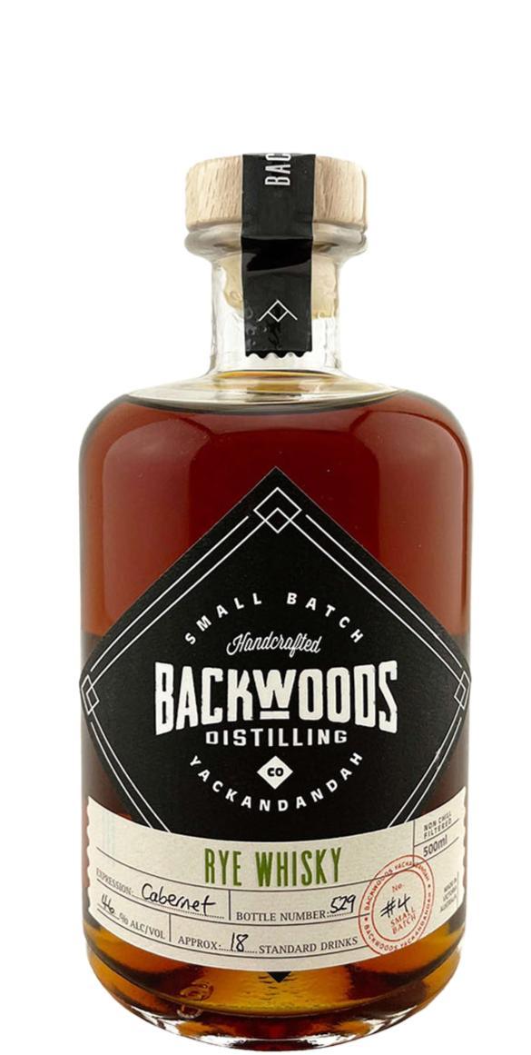 Backwoods Distilling Rye Whisky