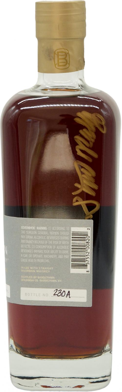 Bardstown Bourbon Company Phifer Pavitt XO